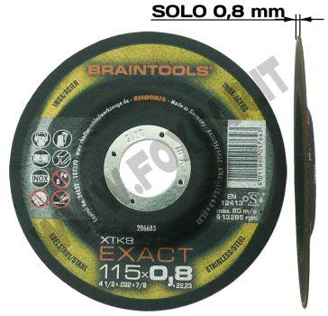 Super disco da taglio da 0,8 mm di spessore diametro 115 mm