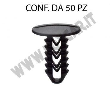 Bottone in plastica per fissaggi vari e rivestimenti interni Alfa Romeo e Iveco