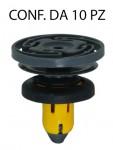 Bottone fissaggio batticalcagno in plastica per Jeep Renegade e Fiat 5...