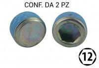 Tappo coppa olio M22x1,50 chiave ad esagono incassato da 12 per Citroe...