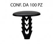 Bottone in plastica per interni su Fiat Lancia e Alfa Romeo per foro d...