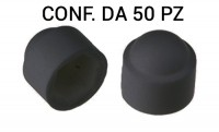Copri dadi M8 plastica nero