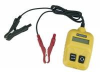 Tester batteria auto con pinze