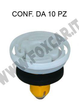 Bottone fermapannello in plastica per Fiat 500X