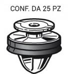 Bottone fermapannello e rivestimenti interni e modanature Fiat, Peugeo...