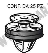 Bottone fermapannello e rivestimenti interni e modanature Fiat, Peugeot, Citroen   vari modelli