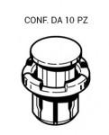 Bottone ad espansione per parasassi su Fiat Sedici e Suzuki SX Crossov...