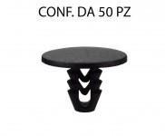 Bottone in plastica con testa larga varie applicazioni Alfa Romeo