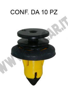 Bottone fissaggio pannello porta in plastica per Alfa Romeo Stelvio