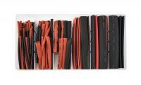 Kit guaine termorestringenti rosse e nere
