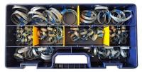 Kit 125 fascette stringitubo ABA in acciaio per manicotti in gomma dei...