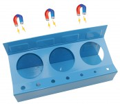 Supporto magnetico per bombolette e cacciaviti