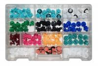 Kit di 130 bottoni per il fissaggio del pannello porta per auto di nuo...