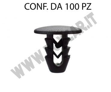 Bottone per fissaggio rivestimenti interni Fiat e Lancia
