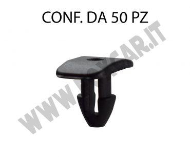 Bottoncino plastica fissaggio guarnizione del cofano e porta Fiat, Lancia, Alfa   Romeo