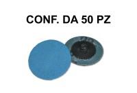 Dischetto abrasivo diametro 51 mm e grana 60
