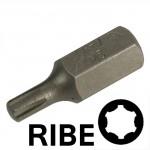 Chiavi a inserto con impronta RIBE M6 esagono 10 mm, lunghezza totale ...
