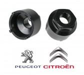 Bussola per giunti sferici sospensioni Citroen e Peugeot
