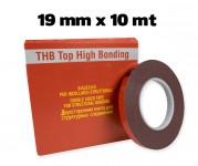 Biadesivo acrilico ad alta resistenza 19x10 mt