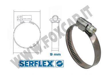 Fascette stringitubo inox per tubi. Guarda le misure disponibili
