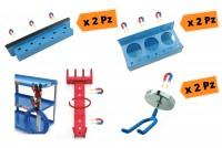 Promozione 7 porta attrezzi e cacciaviti magnetici