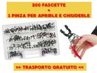 Kit fascette clic-clac + pinza