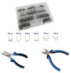 Promo Kit 1000 graffette saldatura plastica + tronchesi