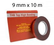 Biadesivo   acrilico ad alta resistenza 9 mm x 10 m