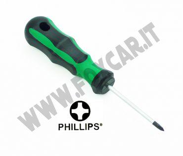 Cacciavite a croce PH0 e lama da 60 mm