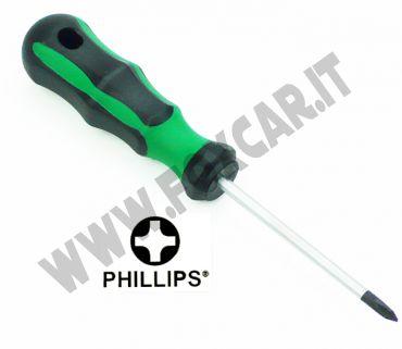 Cacciavite a croce PH1 e lama da 80 mm
