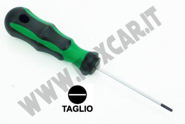 Cacciavite a taglio da 2,5 mm e lama da 75 mm