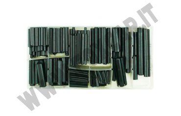 Kit di 280 spine elastiche in acciaio con misure metriche da 2 a 10 mm