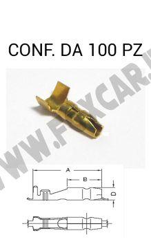 Capicorda faston cilindrico MASCHIO