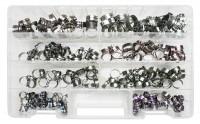 Kit di 200 fascette clic clac in acciaio inox
