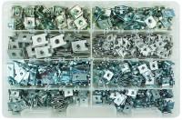 Assortimento di 650 madreviti metalliche varie dimensioni per un total...