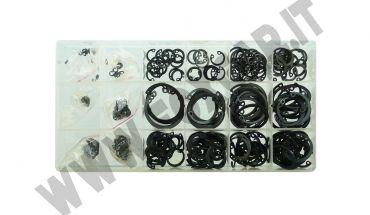 Kit 300 anelli seeger interni per cave nei fori da 3 a 32 mm di diametro