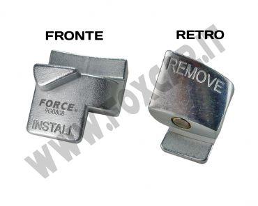 Attrezzo installazione e rimozione cinghie Poly V