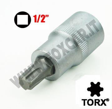 Chiave a bussola TORX 45 con attacco da 1/2 pollice