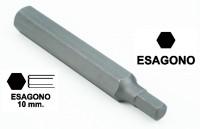 Chiavi a inserto con impronta brugola da 4 mm, esagono 10 mm, lunghezz...