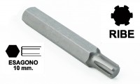 Chiavi a inserto con impronta RIBE M16 esagono 10 mm, lunghezza totale...