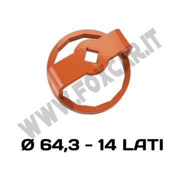 Chiave per filtro olio ad immersione per Ford Alfa Romeo Lancia e Fiat