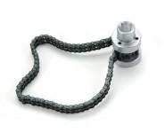 Chiave a catena doppia per filtri olio e gasolio