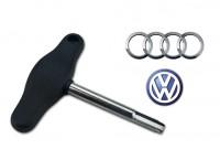 Chiave tappi coppa olio in plastica per Audi e Volkswagen