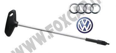 Chiave regolazione fanali anteriori per Audi e Volkswagen