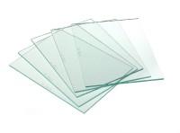 Confezione 5 vetri trasparenti per maschera saldatura