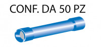 Connettori preisolati cilindrici per cavi con sezione da 1 a 2,5 mm²,...