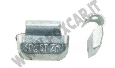 Contrappesi equilibratura per cerchi in acciaio da 10 grammi