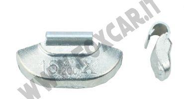 Contrappesi cerchi acciaio da 15 grammi